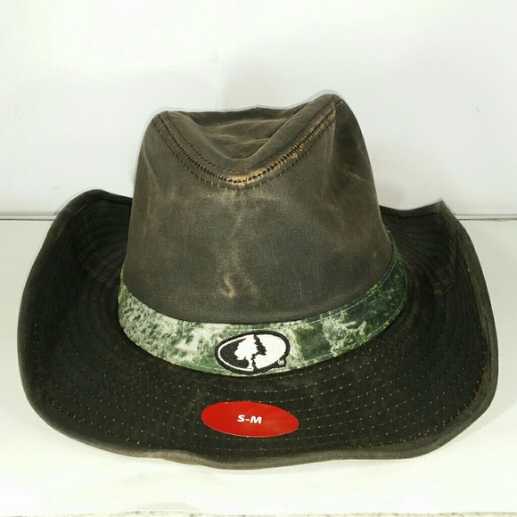 Mossy Oak Brown Weathered Cowboy Hat Camo Hunting 1a698e79e0f